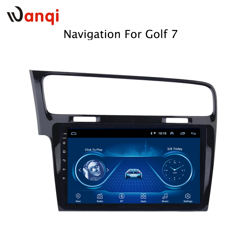 10.1 inch Android 8.1 full touch car multimedia system for golf 7 2014-2018 gps radio navigation