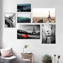 Paris Black And White Photography Posters Prints Canvas Printed Painting Art Wall Pictures Home Decor Living Room Decoration