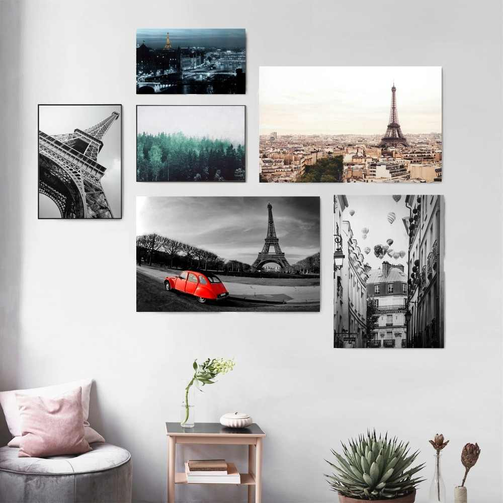 Detail feedback questions about paris black and white photography posters and prints canvas printed painting art wall pictures home decor living room