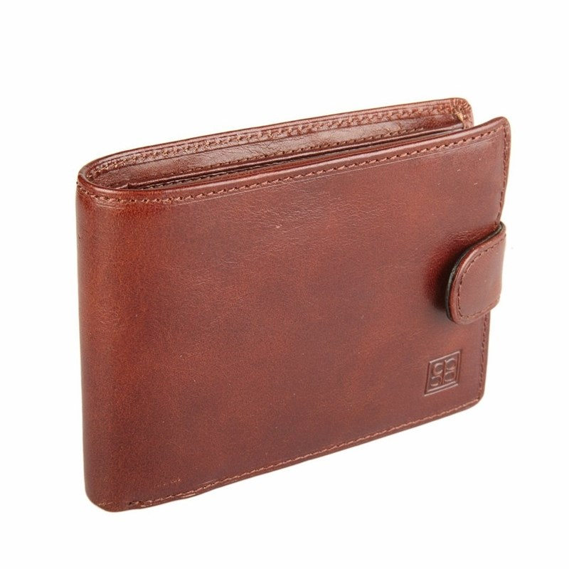 Wallets SergioBelotti 533 milano brown new luxury male leather purse men s clutch plaid wallets handy bags business carteras mujer wallets men black brown dollar price