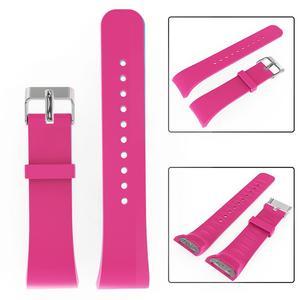 Image 5 - シリコーンソフトバンド 21 センチメートル大型交換スマート腕時計ストラップ通気性ブレスレットアクセサリーサムスンギア Fit2
