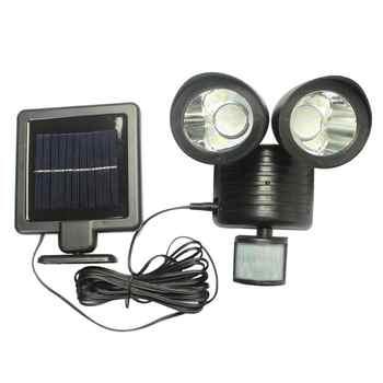 22 LED Outdoor Solar Light Dual Detector Motion Sensor Security Lighting Waterproof Street Wall Lights Garden Yard Wall Lamp - DISCOUNT ITEM  30% OFF All Category