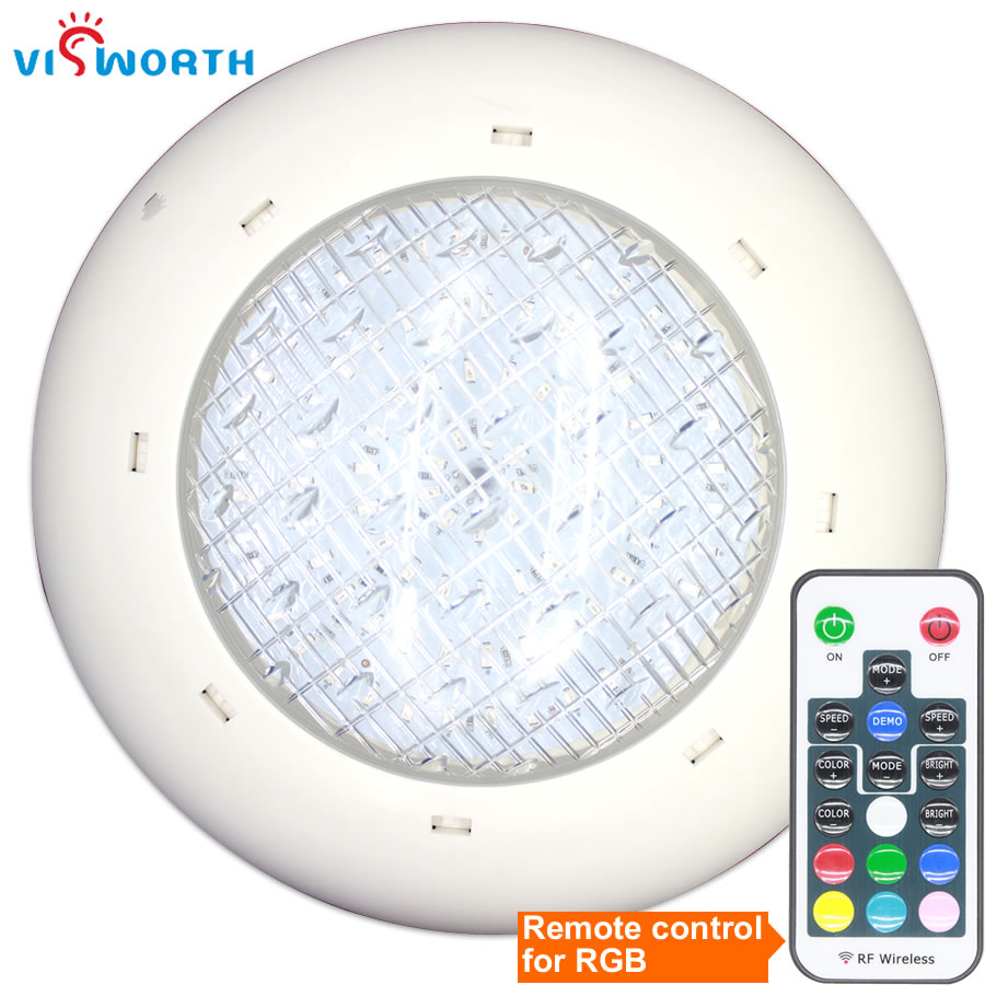 Piscine LED Lampe AC/DC 12 v 24 w 36 w LED Ampoule IP68 Étanche LED SPA Éclairage étang RVB Chaud/Froid Blanc Fontaine Spots