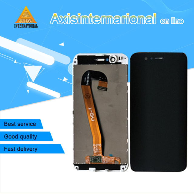 """5.0"""" Tested Axisinternational For Huawei Nova 2 Lcd Screen Display Touch Digitizer Panel Pic Al00 Pic Tl00 Pic Lx9 With Frame"""