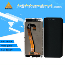 "Axisinternational 5.0 ""Huawei Nova 2 için Lcd ekran dokunmatik ekran Digitizer paneli Pic Al00 Pic Tl00 Pic Lx9 çerçeve ile"