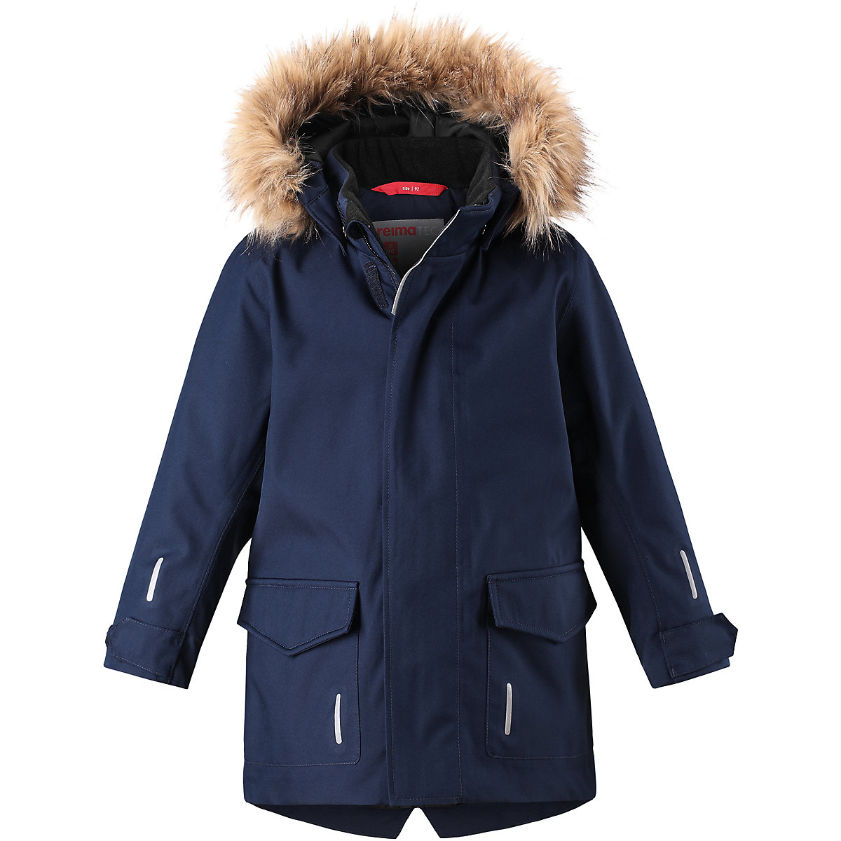 REIMA Jackets 8665239 For boys Polyester  winter fur baby clothing boy Jacket