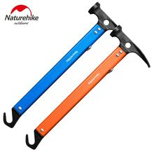 Naturehike Multi-function Aluminum Camping Hammer Aluminum Alloy Hook Wild Survival Equipment Lifesaving Hammer NH15A010-I