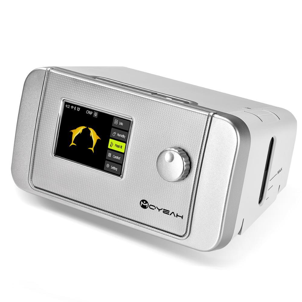 MOYEAH Auto CPAP/APAP Machine 20A Pour L'apnée Du Sommeil OSA Vibrateur Anti Ronflement Ventilateur Avec Wifi Internet Humidificateur CPAP masque