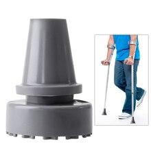ROSENICE 19 мм внутренний диаметр резиновая головка костыль аксессуары противоскользящие советы трость ноги(серый