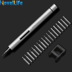 Mais novo Wowstick 1 P Pro Mini Cordless Chave De Fenda Elétrica Para Brinquedos de RC Câmera Telefone Xbox Precisa Repair Tool 1/8 polegada Bits