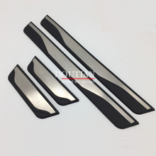 For Opel Zafira c stainless steel door sill Scuff Plate Welcome Pedal For Vauxhall Zafira Tourer c Car Styling Accessories стоимость