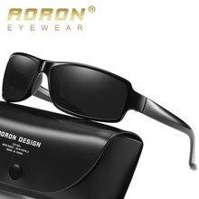 AORON Sunglasses Men Polarized Vintage Rectangle Sport UV400 High Quality Retro Sun Glasses For Women Mirror Luxury Brand цена и фото