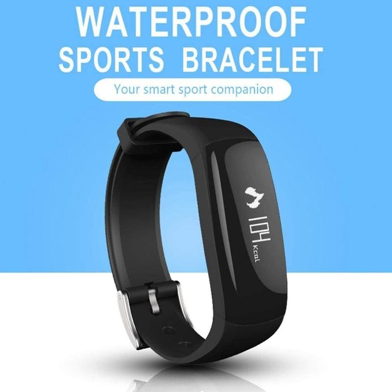 P6 Wristband Blood Pressure Watch Blood Oxygen Heart Rate Monitor Smart Watch