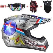 Шлем гоночный из АБС пластика, классический мотоциклетный шлем для горных велосипедов