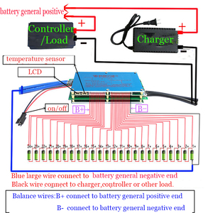Image 3 - Smart 8S   24S 70A/100A/200A/300A bms carte de protection de batterie Bluetooth APP Lifepo4 li ion 10S 12S 13S 14S 16S 20S