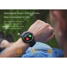 Купить с кэшбэком 4G Smart Watch Android OS 7.1 1GB+16GB SIM Bluetooth Call health monitoring Camera Sport Clock Smartwatch Men For IOS Andorid