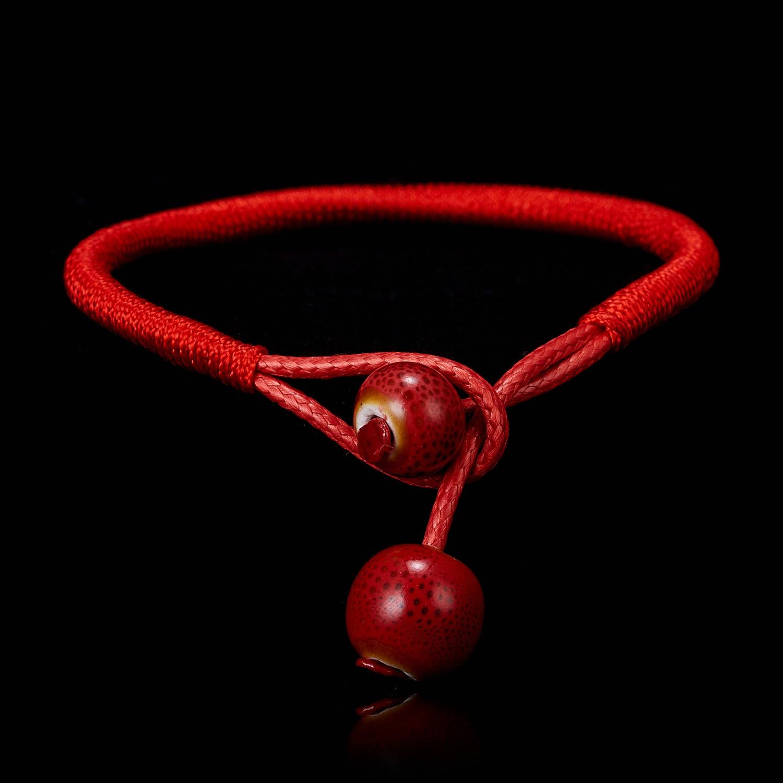 Bracelets /& Bangles 2Pcs//lot Women Lucky Bracelets Bead Red String Ceramic Bracelets /& Bangles Men Handmade Accessories Lovers Lucky Jewelry