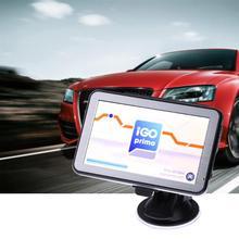 5 pulgadas GPS para coche Navigator Mstar 800 MHz DDR 128M 8GB GPS Navigator pantalla táctil 128MB RAM + 8GB Flashroom GPS nuevo mapa