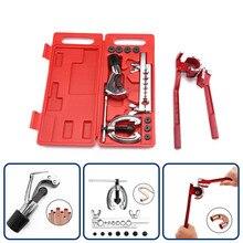 Набор инструментов для ремонта и разборки труб, набор инструментов для ремонта автомобилей, комбинированный костюм с держателем, шина, режущий нож, адаптеры, инструменты