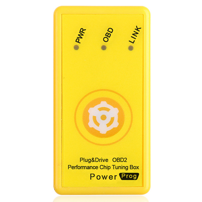 Plug And Drive SuperOBD2 Performance Chip Tuning Box For Benzine Car
