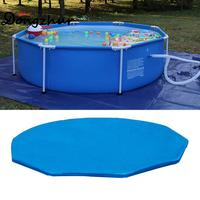 Dongzhur High Quality Ground Float Swimming Pool Anti Dust Rain Leaves Cover Pool Cover NOT Pool! New Blue SWM1689