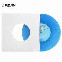 Paper-Bags Turntable Record Anti-Static Lp Vinyl LEORY 7inch Thick for 20pcs Kraft-Paper