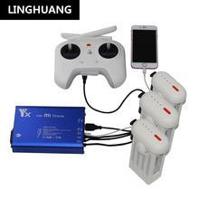 Xiao mi mi 4 K Drone 4 K quadrirotor batterie nounou femme de ménage 3 en 1 batterie et Trans mi tter chargeur 2USB chargeur rapide accessoires