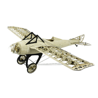 2019 New Arrivals Deperdussin Monocoque 1000mm Wingspan Balsa Wood Laser Cut RC Airplane Kit For Kids Gifts
