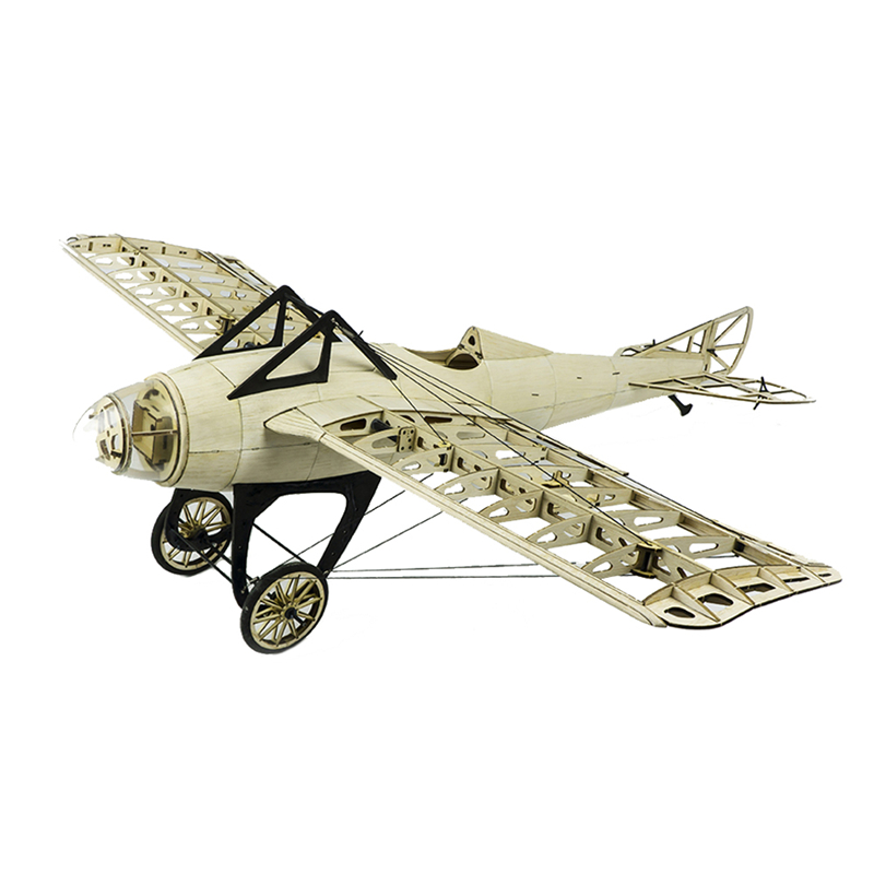 Presale 2019 New Arrivals Deperdussin Monocoque 1000mm Wingspan Balsa Wood Laser Cut RC Airplane Kit For Kids Gifts