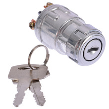 Ignition Switch with 2 Keys Universal For Car Tractor Trailer Car Tractor Ignition Switch Lock Cylinder цена 2017