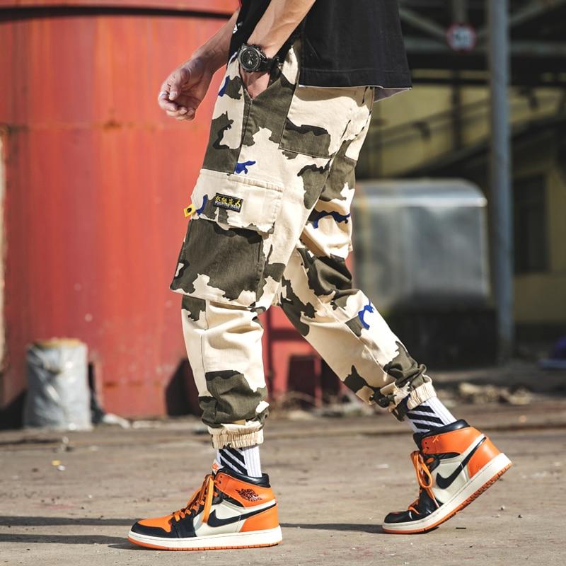 Diskret Overalls Männer Flut Marke Lose Beiläufige Hosen Männer Koreanische Trends Sport Hosen Joker Hosen Hosen Neun Hosen Männer