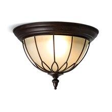 купить Lamp sufitowa lampara techo vintage home lighting plafon plafonnier luminaria de teto plafondlamp living room led ceiling light по цене 6939.7 рублей