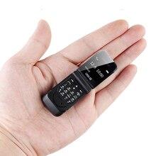 LONG-CZ J9 Smallest Mini Flip Mobile Phone Bluetooth Dialer