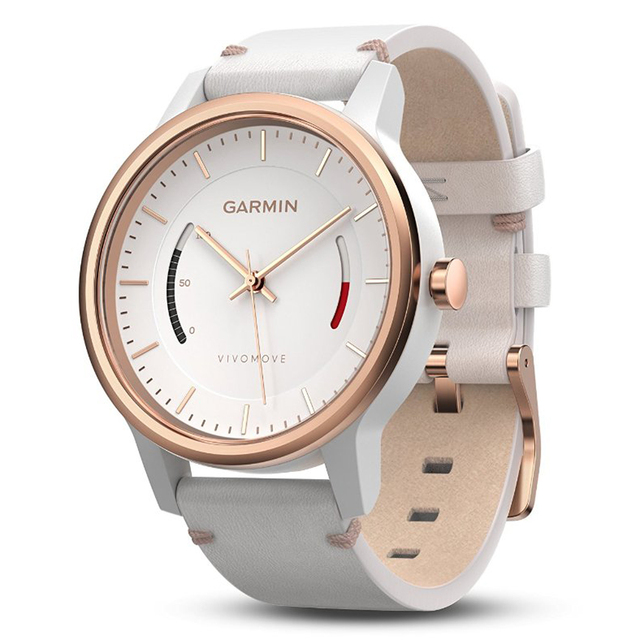 US $149 99 |Garmin Vivomove Smart Watch Bluetooth 4 0 5 ATM Sedentary  Reminder Goal Setting Progress Bar Wristband For Android,IOS-in Smart  Watches