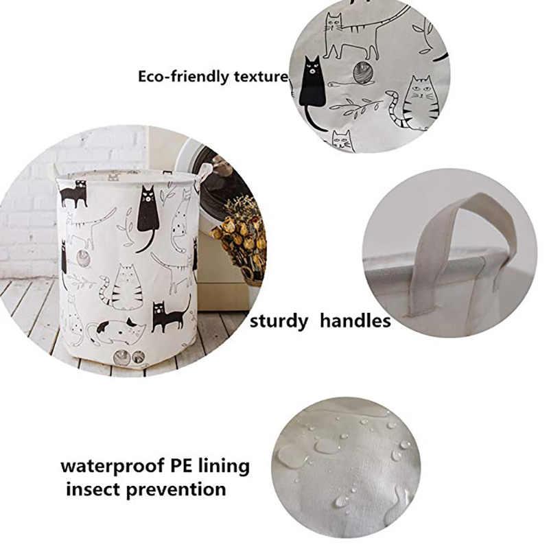 Casa Lavanderia Cesta de Lavanderia Saco de Roupa Suja Cesta De Armazenamento Brinquedo de Criança Dobrável Organizador Banheiro Lavanderia Balde