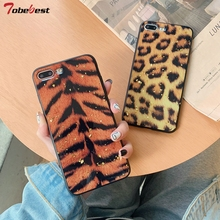 hot deal buy coque for iphone 7 plus case fashion sexy leopard tiger soft silicone tpu cases for iphone 6 6s 7 8 plus x xr xs max cover