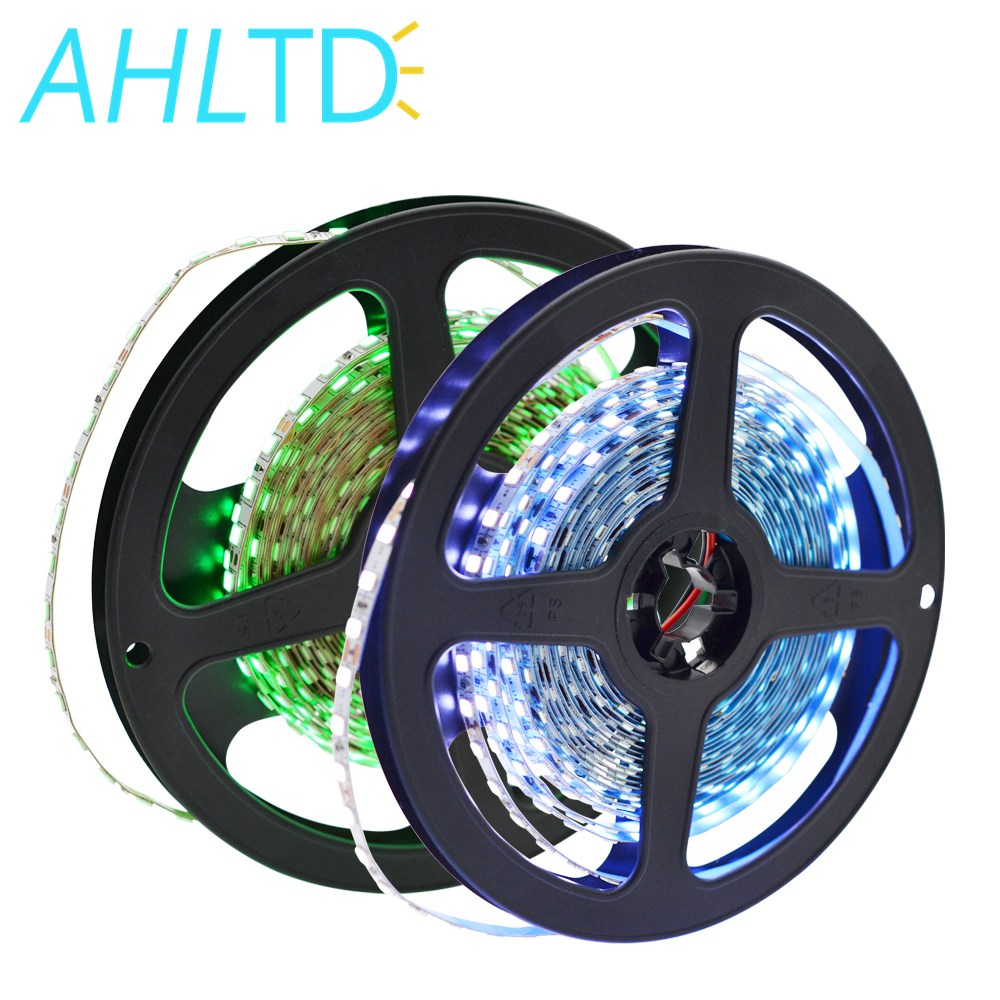 1Roll 5m Warm White Green Crystal Blue 2835 600Led 5mm Width 120Leds/m Ip30 No Waterproof Auto Change Color Atmosphere Led Strip
