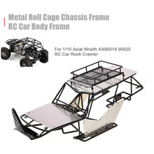 RC Car Metal Roll Cage Chassis Frame RC Car Body for 1/10 Axial Wraith AX90018 90020 RC Car Rock DIY Crawler Racer Cars(China)