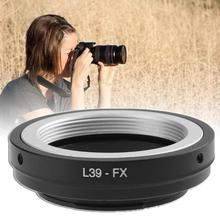 цена на Camera Lens Adaper M39 L39-FX for LEICA L39/M39 lens to for Fujifilm fuji X-Pro1 X-Pro2 X-E1 X-A1 X-M1 FX Camera Accessories