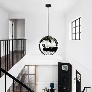 Image 4 - Zhaoke современного мирового земли подвесные светильники подвесной светильник для Гостиная Освещение для дома, ресторана светильники подвесные светильники
