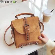 Casual Women Rivet Backpack Small Ladies Vintage Shoulder Hand Bags Mini  Travel School Crossbody Bag for Girls Teenage Female 0ca8653812b25