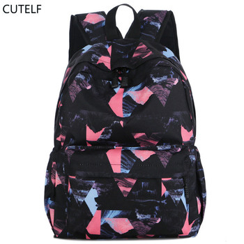 ff65929bb Backpack Women Mochilas Mujer 2018 Leisure Floral School Bags For Girls  Nylon Backpacks Big Capacity Mochilas Travel Back Pack