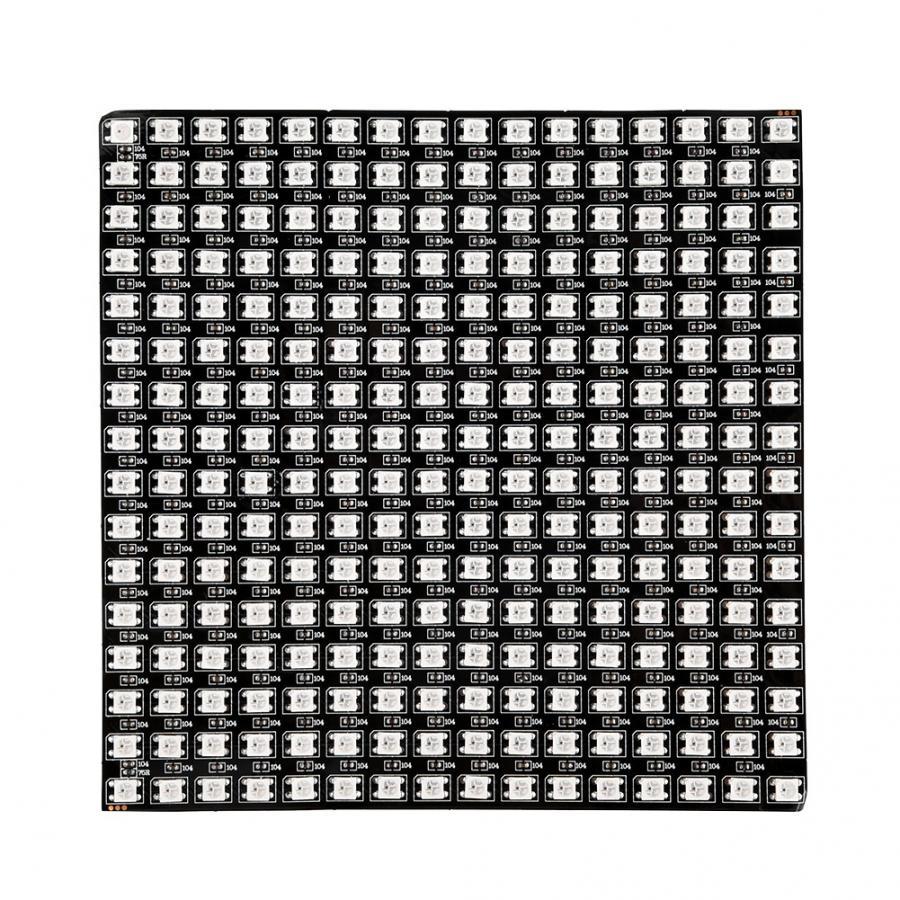 Image 2 - WS2812B RGB 16*16 Pixels Digital Flexible Dot Individually Addressable LED Display Scree Wattmeter-in Novelty Lighting from Lights & Lighting