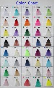 Image 4 - IuBuFiGo maille en poils de cheval, Crinoline, 4 pouces (10cm), 100yard/lot, couleur #31