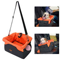 Portable Travel Dog Car Seat Cover Folding Hammock Pet Carriers Bag Carrying For Cats Dogs transportin perro autostoel hond