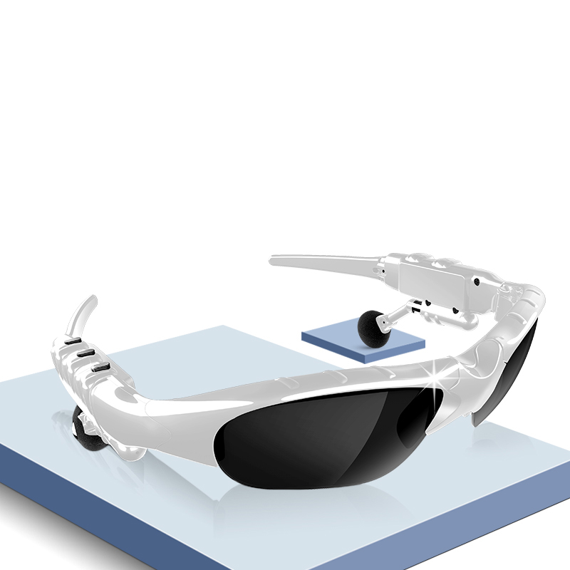 Bluetooth Glasses Headphone Polarizing-Lens Stereo Music with Anti-Uv400 for Sport title=