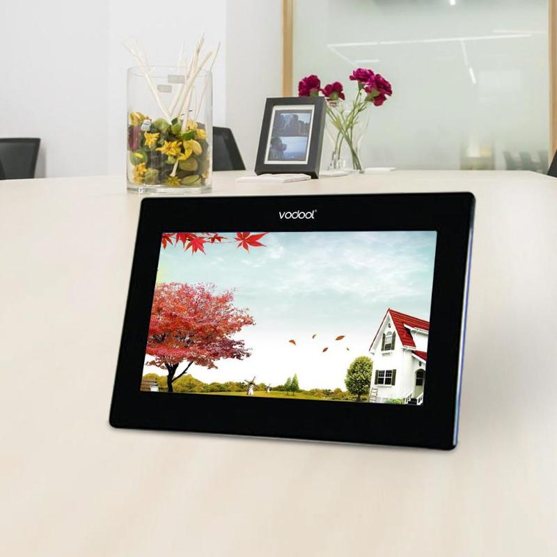 10 inch Backlight 1280 800 HD LCD Digital Photo Frame Electronic Picture Music Video with Motion