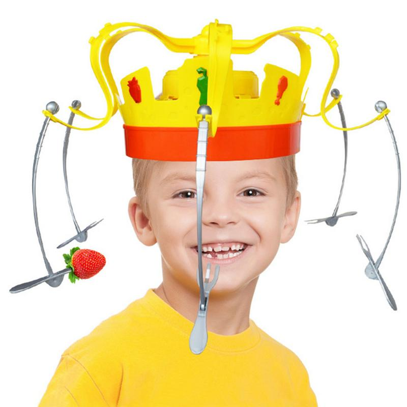 Crown Food Hat Funny Tidy Party Eat The Food Strawberry Marshmallow With Revolving Party HatCrown Food Hat Funny Tidy Party Eat The Food Strawberry Marshmallow With Revolving Party Hat