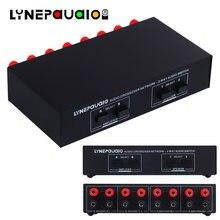 Аудиопереключатель с 2 входами и выходами Пассивный переключатель