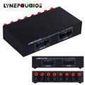 Audio Switch di rete 2 di Ingresso 2 Uscita Amplificatore Altoparlante Passivo Switcher Comparatore Audio Selettore